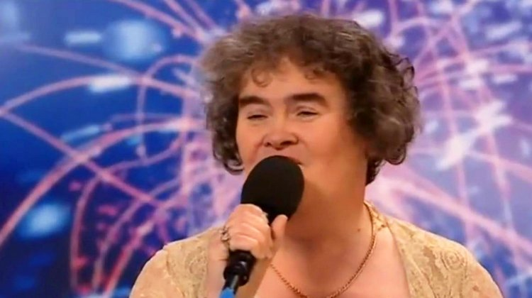 I Love Susan Boyle's Big Eyebrows! And her Voice? Oh My….