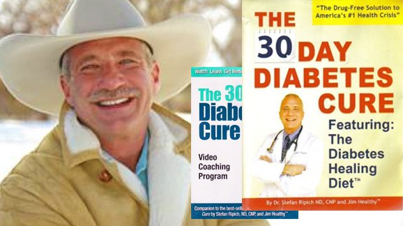Dr. Stefan Ripich: Cure Diabetes in 30 Days? Really?